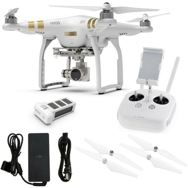 DJI Phantom 3 Pro Professional FPV Drone w/4K Camera & 3-Axis Gimbal - IN STOCK!