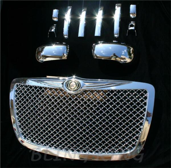 Chrysler 300 GRILLE/HANDLE/MIRROR Chrome package 05-10