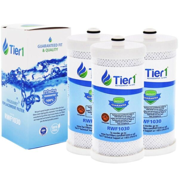 Fits Frigidaire WFCB WF1CB Comparable Refrigerator Water Filter 3 Pack