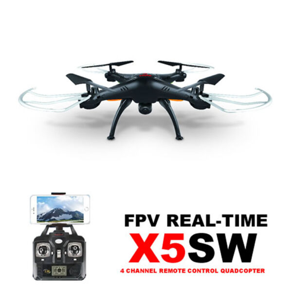 Syma X5SW RC Quadcopter Wifi FPV Explorers-II with 2.0MP Camera RTF Drone White