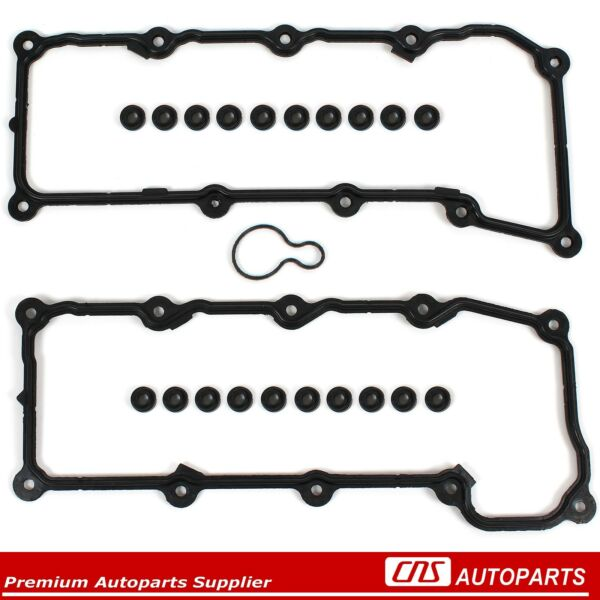 02-05 Dodge Ram Dakota Jeep Liberty 3.7L MAGNUM Valve Cover Gaskets W/ Grommets
