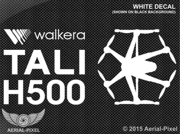 Walkera TALI H500 Window / Case Decal Sticker Hexacopter UAV Drone Devention Hex