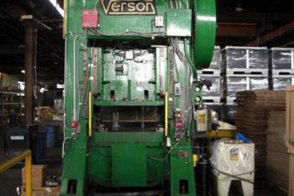 300 Ton Verson Straight Side Mechanical Press For Sale