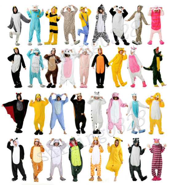 New Style Halloween Unisex Adult Kigurumi Pajamas Anime Cosplay Costume Onesie