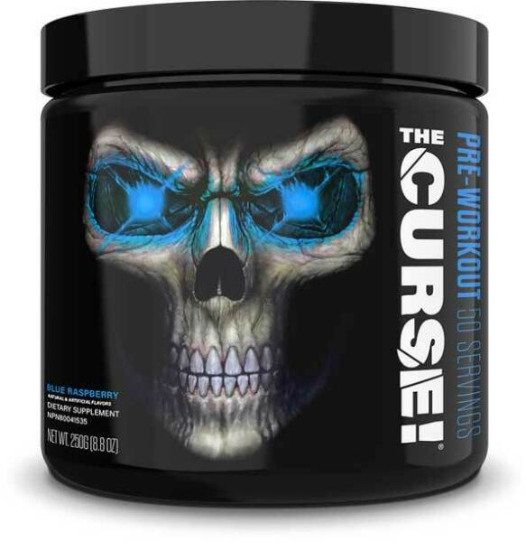JNX Sports THE CURSE Pre-Workout Creatine Improve Workout 50 Serv Free Shipping