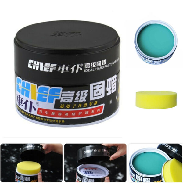 Anti-Oxidation Use Polishes Solid Waterproof Hard Soft Wax For Dark Color Cars