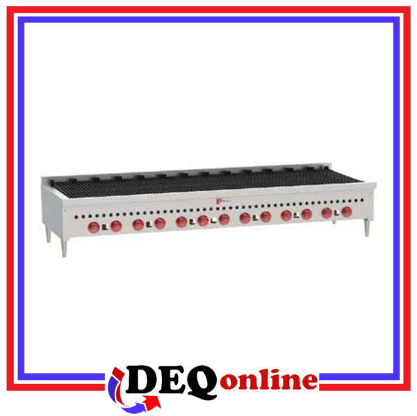 Wolf SCB72 Counter Model Gas Charbroiler 72