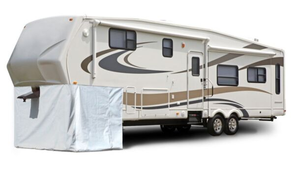 Premium 5th Wheel RV Skirt Storage Cover fits 266 Inch Length x 64 Inch Height