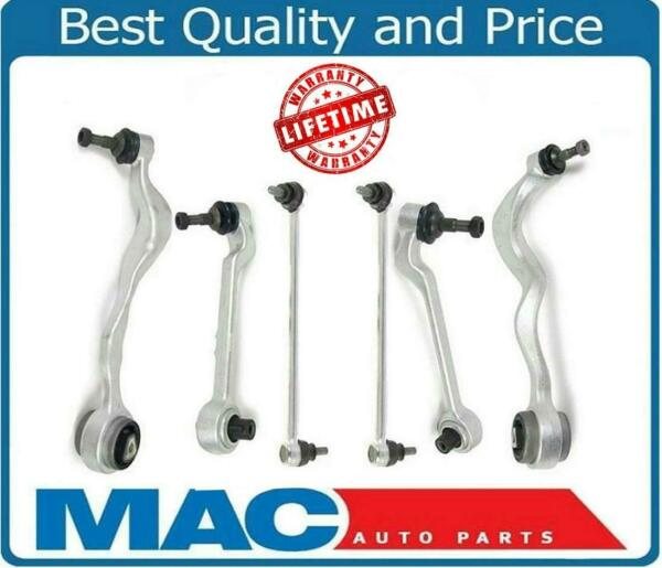 Front 4 Control Arm Arms 2 Sway Bar Links For 07-13 BMW REAR WHEEL DRIVE 328I