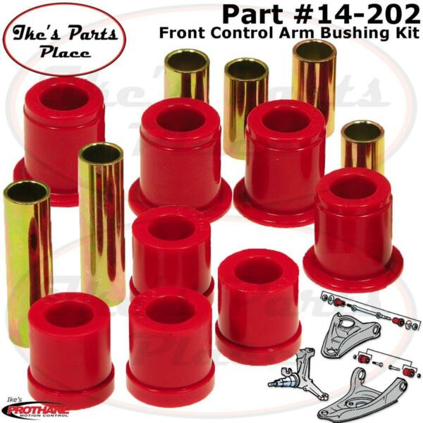 Prothane 14-202 Front Control Arm Bushing Kit Fits HardbodyPathfinder 24WD