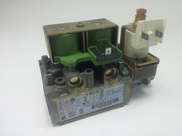 SIT Made in Italy 837 Tandem Natural Gas Valve 0837100 Furnace Boiler