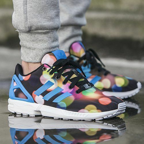 NEW Adidas Originals ZX Flux City Lights Bubble Gum Men's Shoes B23984 ALL SZ'S