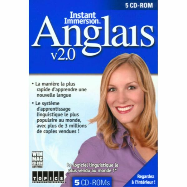 Instant Immersion English 2.0 English amp; French $4.99