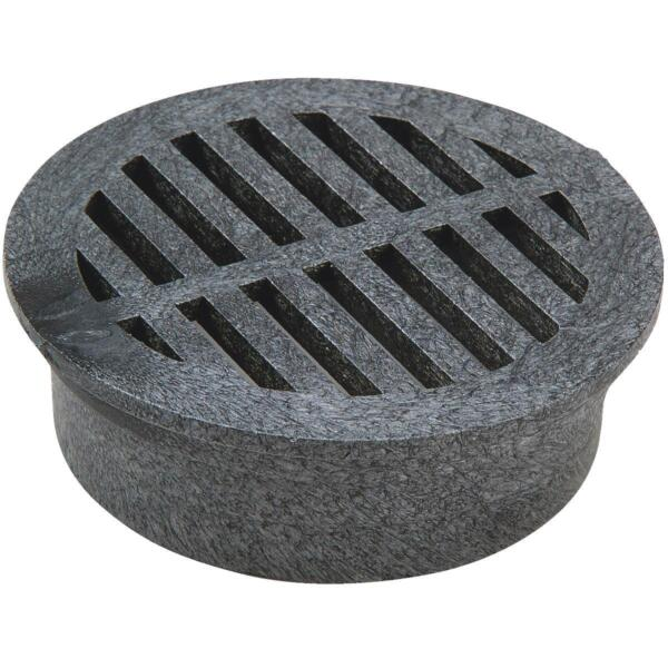 NDS 4quot; Black Round Grate