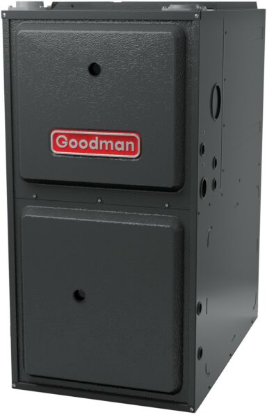 Goodman 96% 120000 BTU 2-Stage Gas Furnace with 5-Spd ECM Blower GMEC961205DN