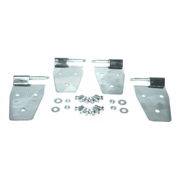 Half Door Hinges Stainless for Jeep Wrangler YJ TJ 1987 2006 RT34009