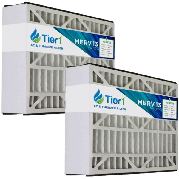 BDP 16x25x5 Merv 13 Replacement AC Furnace Air Filter (2 Pack)
