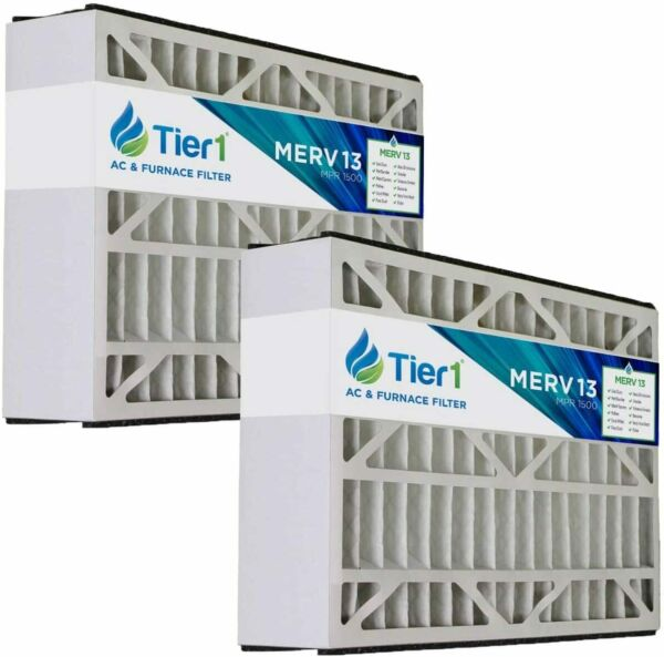 Electro-Air 16x25x5 Merv 13 Replacement AC Furnace Air Filter (2 Pack)