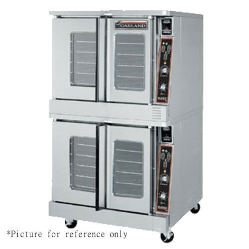 Garland MCO-GS-20-ESS Master Series Double Deck Gas Convection Oven