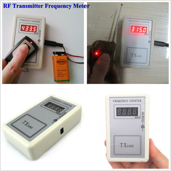 Auto Car Key Remote Control RF Transmitter Frequency Detector Tester Counter New