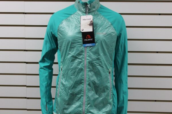 Women Marmot Frequency Hybrid Jckt Ic GrnLsh 55010 New With BLEMISHES MSRP $135