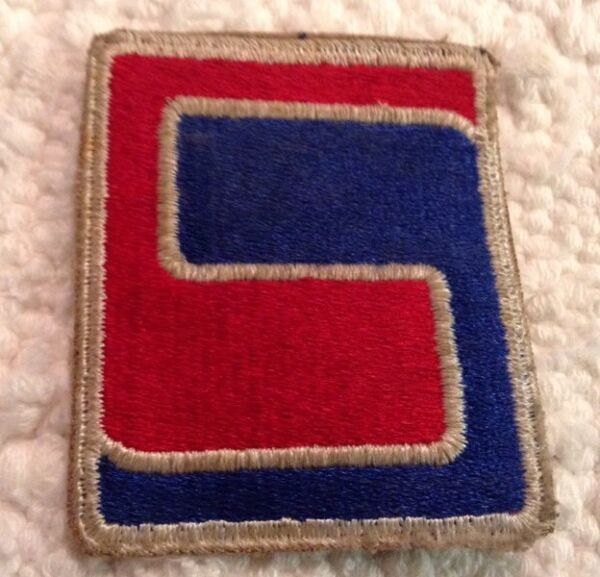 WWII US 69th Infantry Division Shoulder Patch