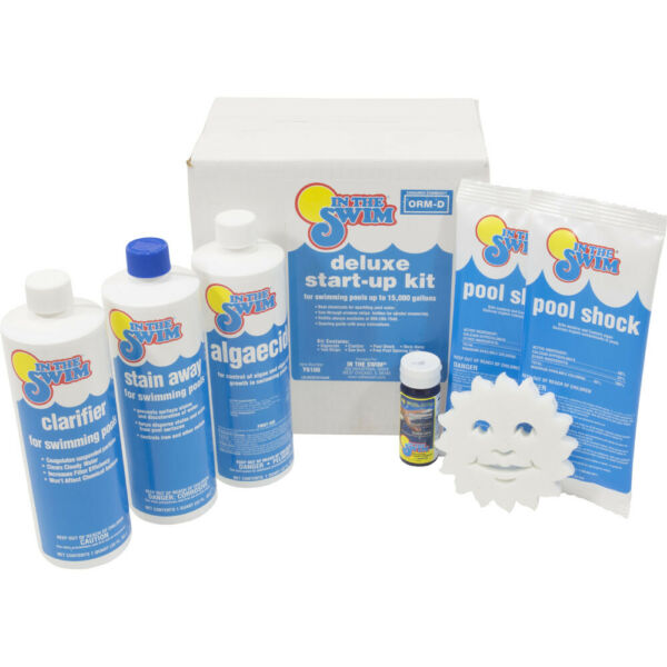 In The Swim Deluxe Spring Start-Up Chemical Kit For 15K Gallon Swimming Pools