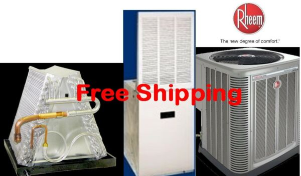 4 Ton R-410A 14SEER Mobile Home Elec Heating System Condenser E Furnace Coil