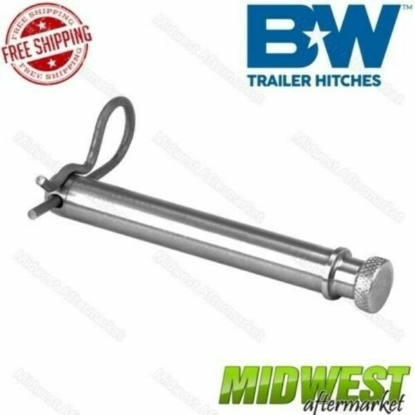 Bamp;W Tow amp; Stow Trailer Hitches Stainless Steel Replacement Receiver Hitch Pin $12.56