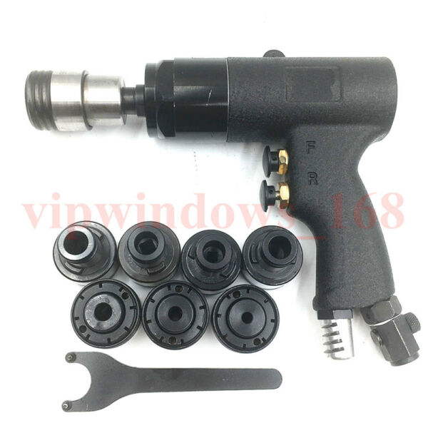 Pneumatic Tapping Machine Air Thread Drill Hand Tapper 200rpm 400rpm