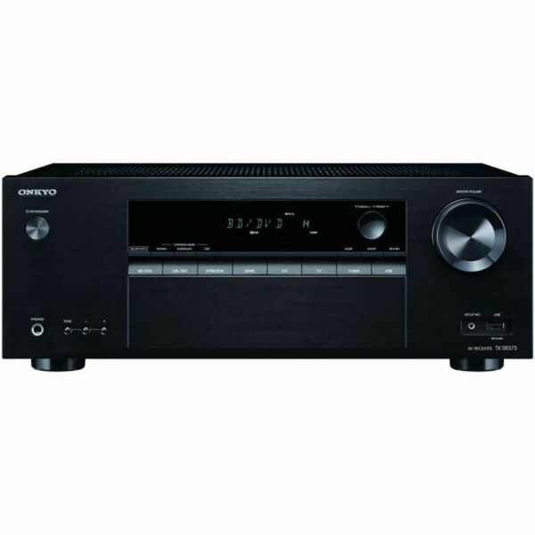 Onkyo TX-SR373 5.2 Channel Audio Video Receiver with 4 HDMI Ports