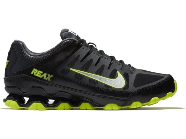 NIB Men's Nike Reax 8 TR Mesh Running Cross Training Shoes Sneakers BkGrn 022
