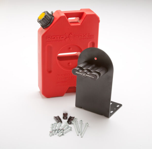 1 Gallon Rotopax Fuel Pack WITH L Bracket and Mount. RZR Gas Fuel Can Container $99.95
