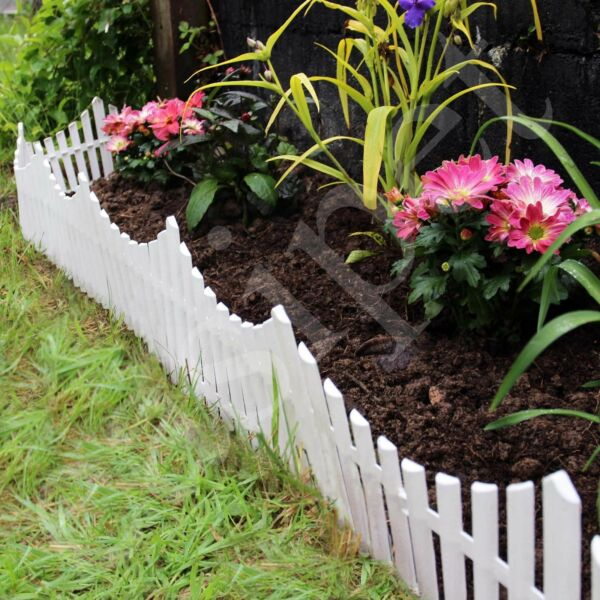 Garden Border Fencing Fence Pannels Outdoor Landscape Decor Edging Yard 12 Pack