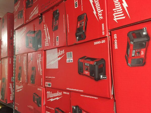Milwaukee M18 Jobsite Radio 2890-20 BRAND NEW Tool Only NO BATTERIES