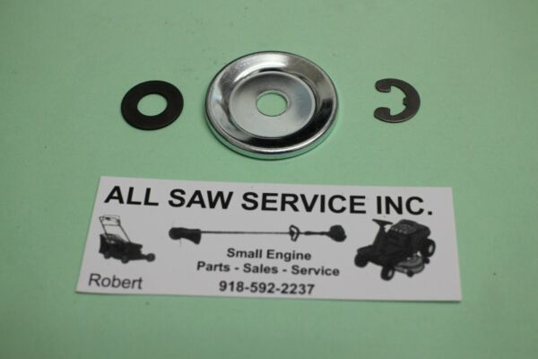 NEW OEM Poulan Sears Craftsman Clutch Washer Clip Kit 530071945 PP4218 avx $7.97