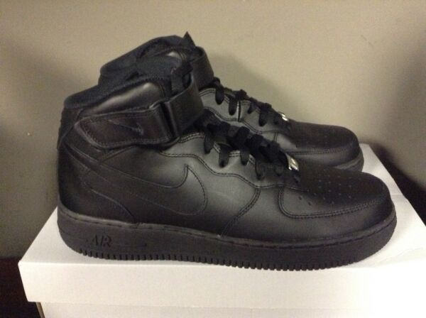 Nike Air Force 1 Mid BLACK/BLACK 315123-001