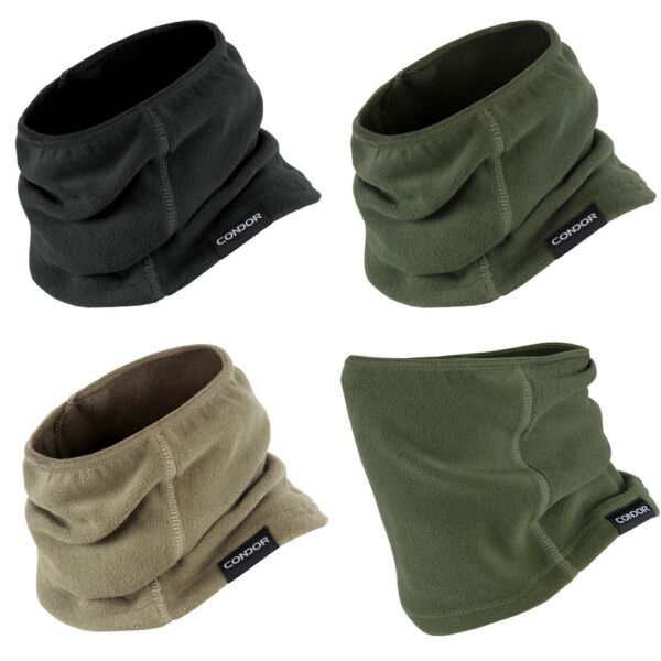 Condor 221106 Tactical Thermo Neck Gaiter Neckwarmer Mask Microfleece 3 Colors