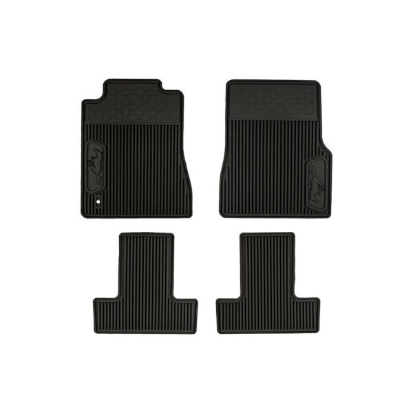 05-09 Ford Mustang All Weather Rubber Floor Mats Black OEM NEW 6R3Z-6313300-A