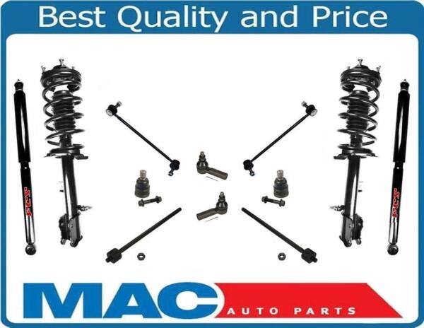 10-12 Escape Complete Struts Ball Joints Inner Outer Tie Rods Sway Bar Link 12Pc