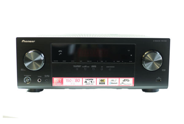 Pioneer VSX-532 5.1 Channel A/V Receiver with Bluetooth, 4 HDMI