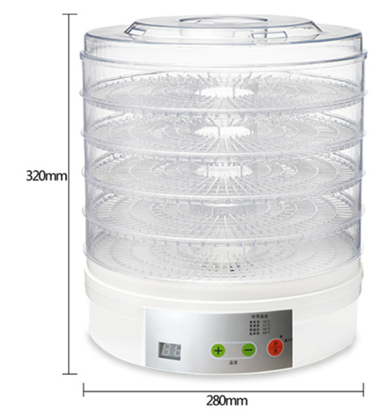 Healthy Food Chips Dehydrator Dryer Fruits vegetables Meats drying machine