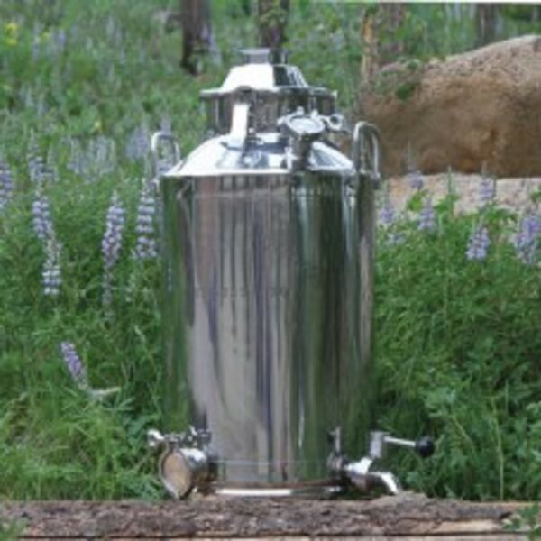 13 gallon stainless steel e85 essential oils moonshine milk can boiler 2quot; 3quot; 4quot; $315.00