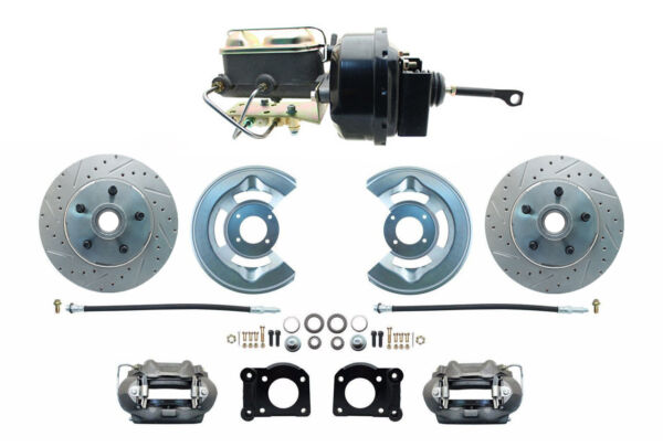 1964 65 66 Ford Mustang Automatic Performance Power Disc Brake Conversion Kit