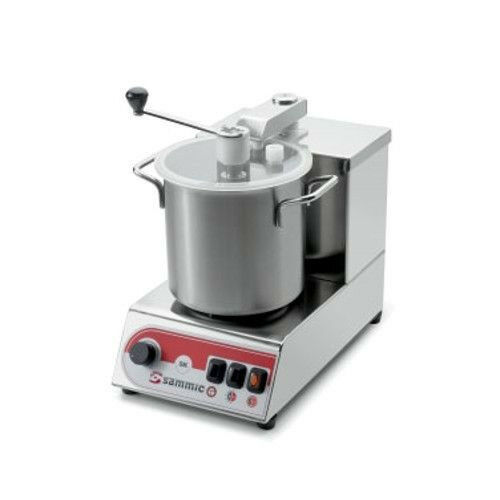 Sammic SKE-3 Emulsifier  Food Processor with Serrated Blade and Scraper- .63 HP