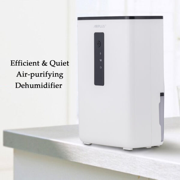 Portable Dehumidifier with UV Light for Home Basement A Room Ultra-Quiet New