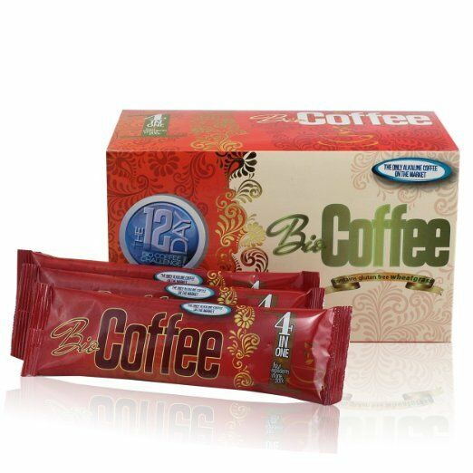 BIO COFFEE quot;THE HEALTHIEST COFFEE IN THE WORLD quot;16quot; SACHETS IN EACH BOX
