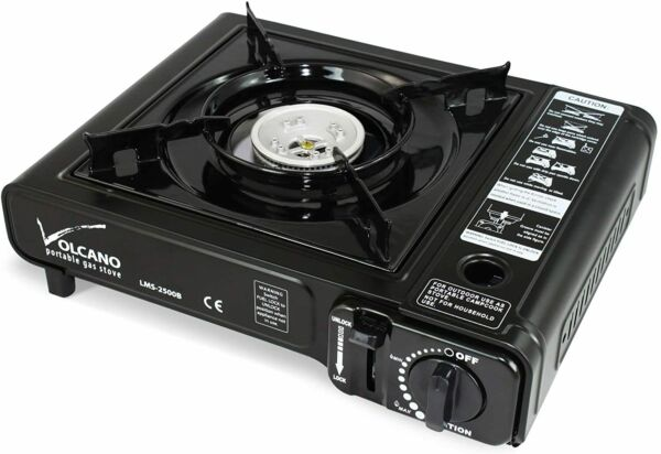 Portable Butane Gas Stove Burner Camping Stove with Carrying Case