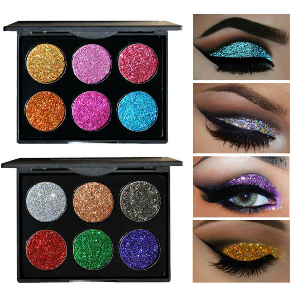 US Shimmer Glitter Eye Shadow Powder Palette Matte Eyeshadow Cosmetic Makeup Kit
