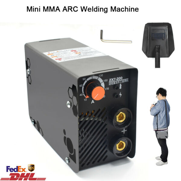 200A Welding Machine ARC MMA Manual Welder IGBT DC Inverter AC220V ZX7-200 Mini